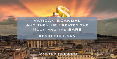 Vatican Scandal – And Then He Created the Moon and the SARS