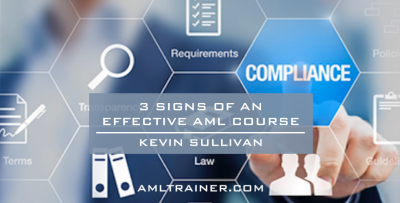 3 Signs of an Effective AML Course