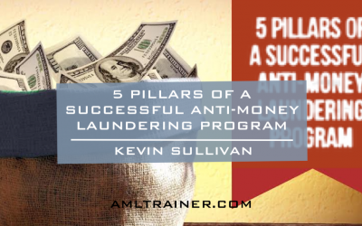 5 Pillars of a Successful Anti-Money Laundering Program