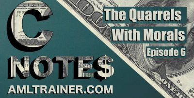 C Notes Podcast Ep 6 The Quarrels with Morals-Trading Profit on Falling Morals